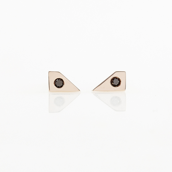 TARA 4779 Void Earrings No. 2 - Gold