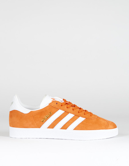 Adidas Gazelle Tactile Orange White Gold