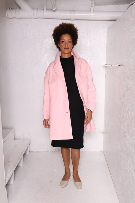 Intentionally Blank MARVEL PINK Wool oversized