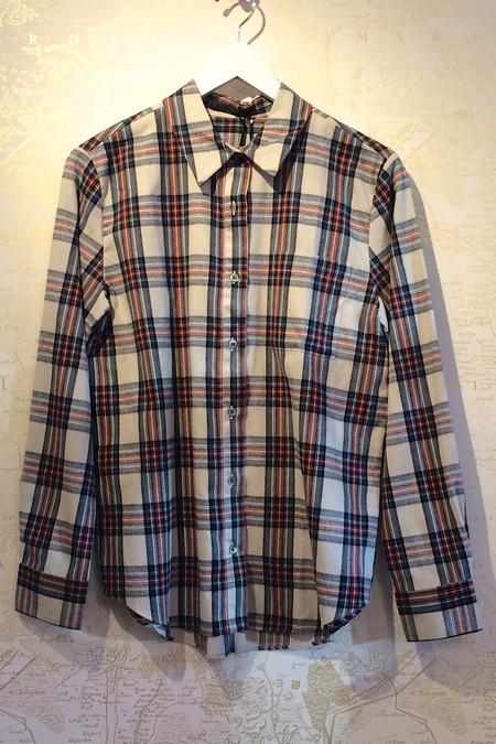 Jenni Kayne Plaid Boyfriend Shirt