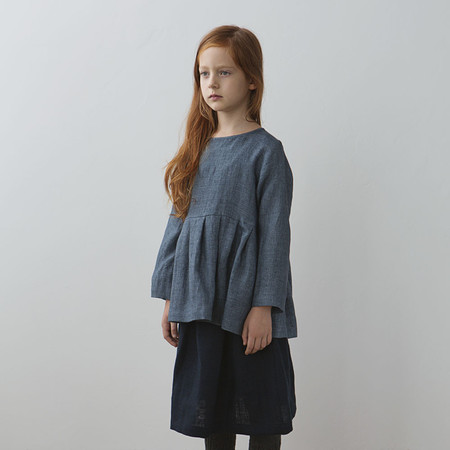 Kid's Muku Pleated Top