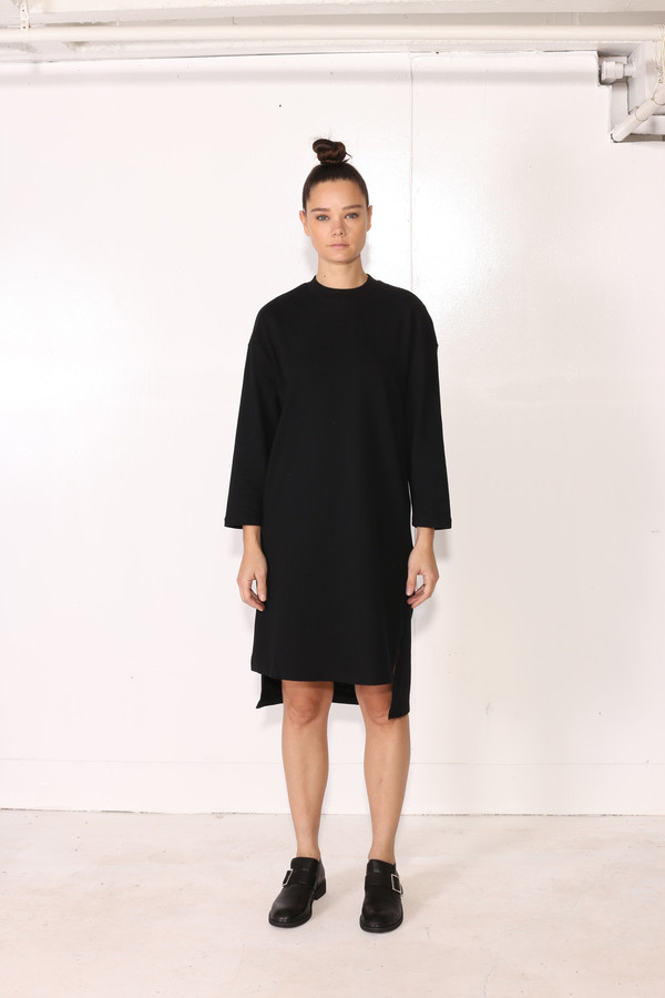 Intentionally Blank MILLET DRESS Black