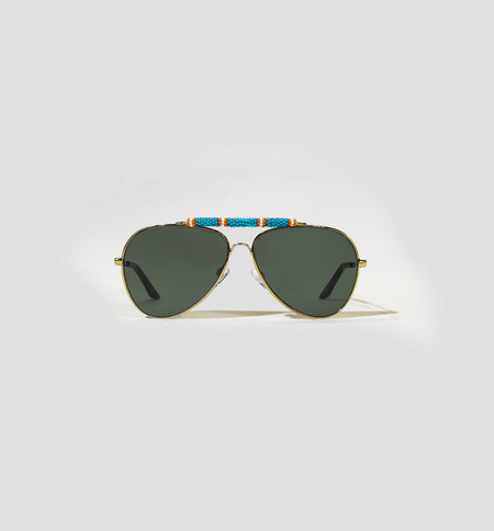 Michael Nelson Exclusive Sunglasses Turquoise/Orange