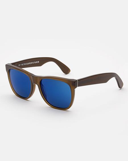 RetroSuperFuture Classic Sunglasses in Deep Brown