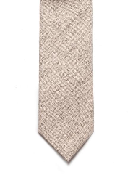 Neighbour Cotton Tie Beige Grey