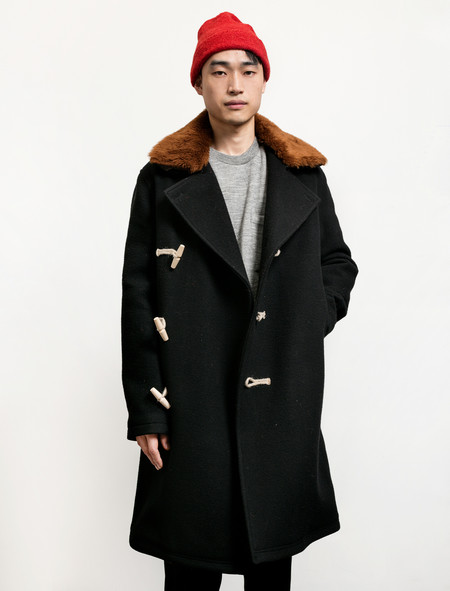 Our Legacy Extended DB Coat Cocoon Black