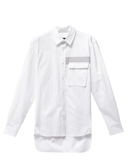 Christopher Raeburn Grosgrain Shirt White