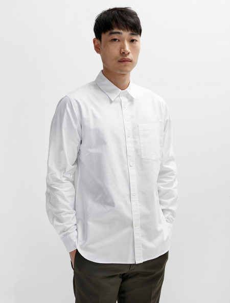 Margaret Howell Minimal Shirt Classic Oxford White