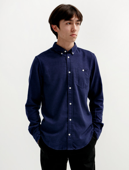 Norse Projects Osvald Brushed Navy