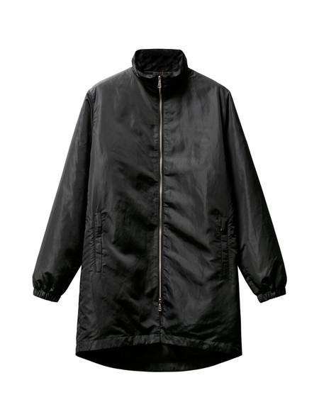 Tres Bien Homme Padded Zip Coat Black Shine