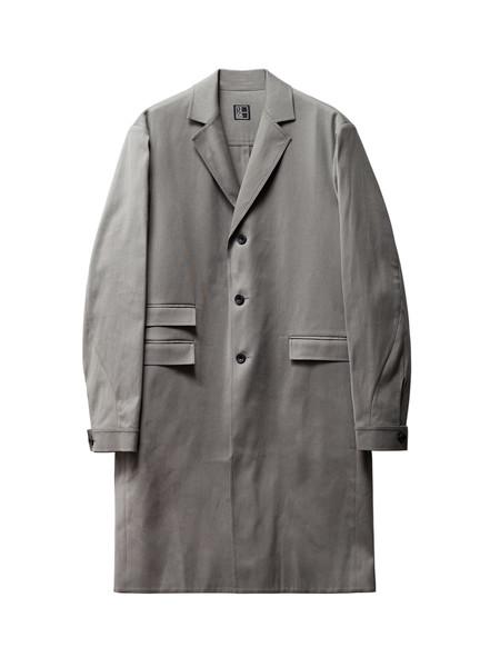 1205 Summer Covert Coat Grey