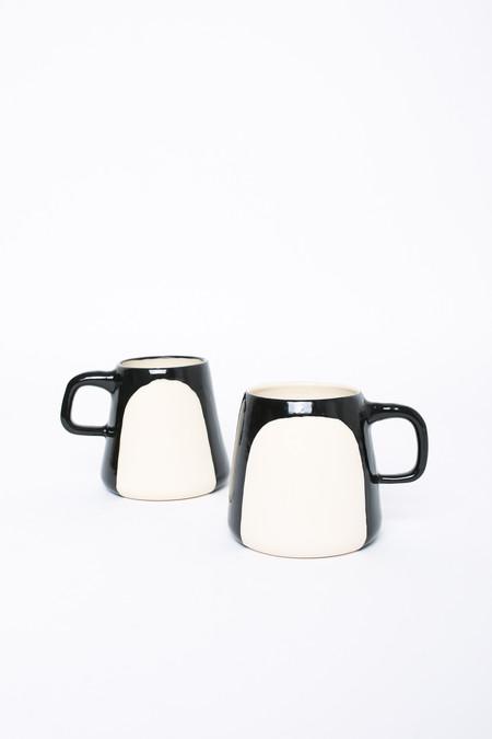BTW Ceramics Penguin Mug in Contrast Series