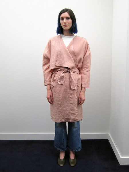 Unisex 69 Minimal Trench, Dusty Rose
