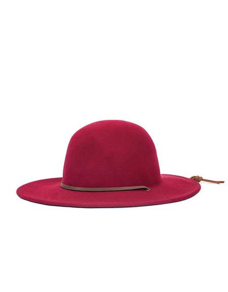 Brixton Tiller Hat Burgundy