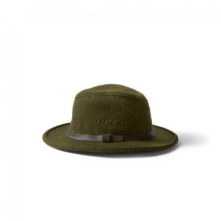 Filson Forest Green Wool Packer Hat
