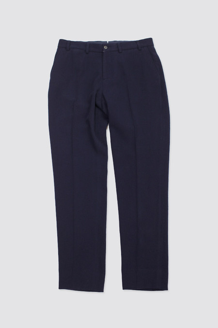 Our Legacy Classic Trousers Navy Worsted Military