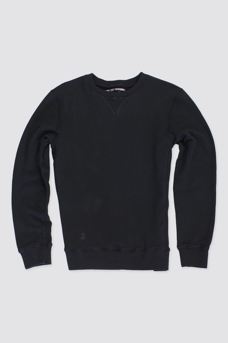 Robert Geller Seconds Crewneck Black