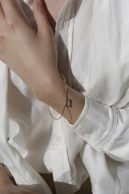 Blanca Monrós Gómez Dainty Diamond Bangle