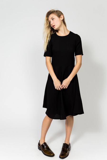 Norse Projects Emilie Waffle Wool Dress