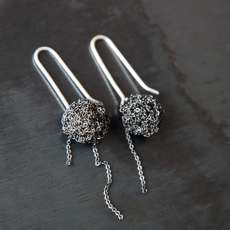 Arielle De Pinto Hook Bead Earrings