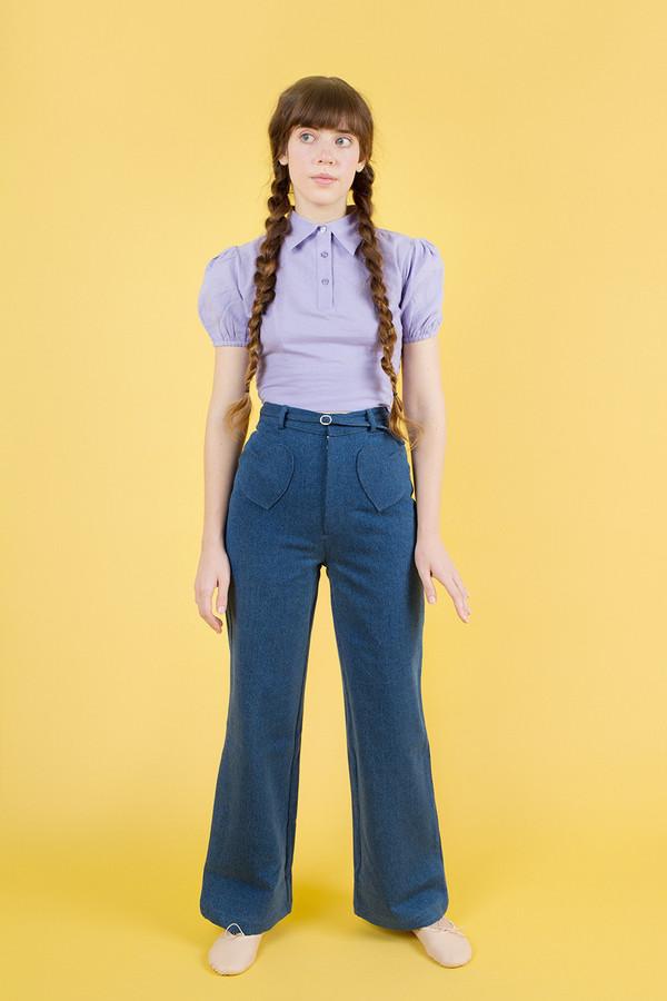 Samantha Pleet Be Mine Jeans - Ultramarine