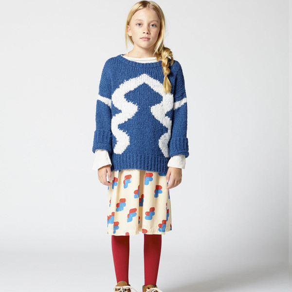 The Animals Observatory Bull Kid's Sweater