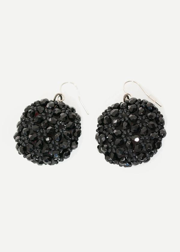 Maria Calderara Cluster Earring in Black