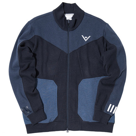 ADIDAS BY WHITE MOUNTAINEERING SWEAT ZIP UP - COLLEGIATE NAVY