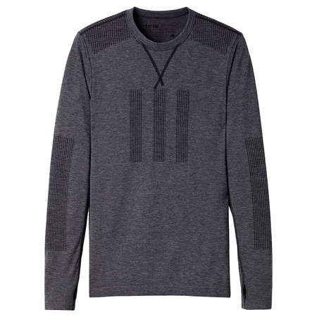 ADIDAS DAY ONE SEAMLESS LS T-SHIRT - PEAT