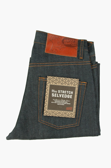Naked & Famous Easy Guy 11oz. Stretch Selvedge