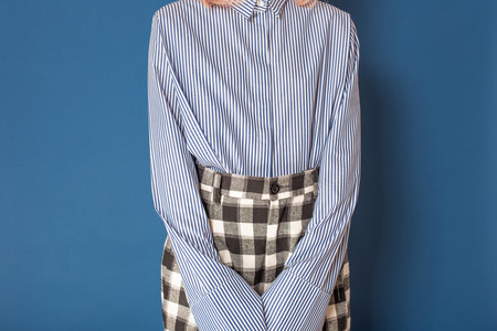 Toit Volant november pleated shirt