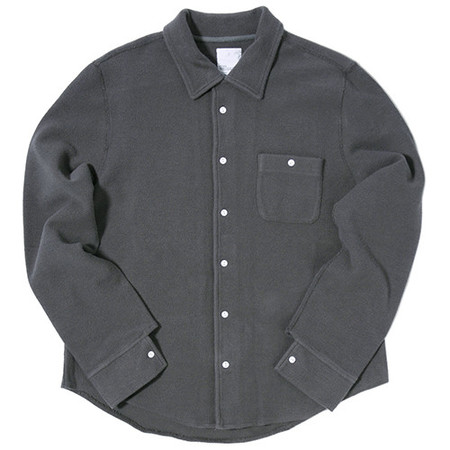 GARBSTORE CLUB SHIRT BUTTON UP / GREY