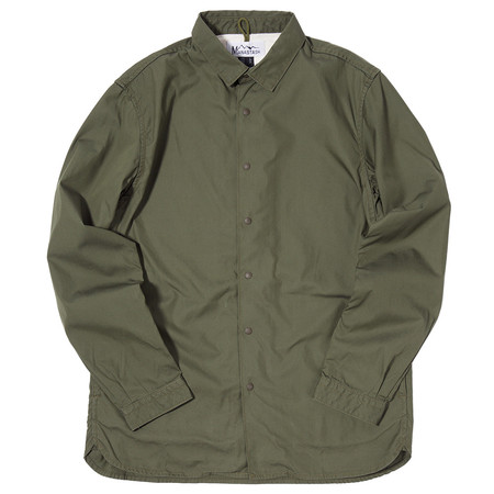 MANASTASH OD SHIRT JACKET / OLIVE