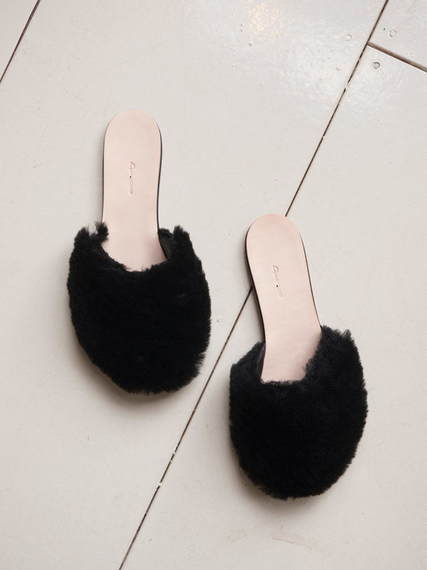 The Palatines Cognito Shearling Mule