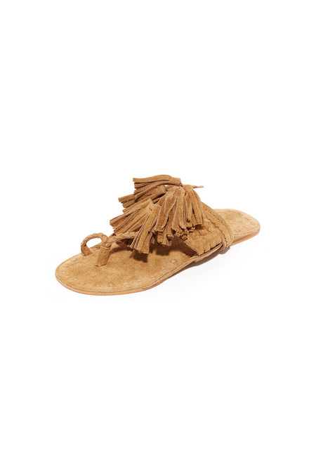 Figue SCARAMOUCHE SANDAL - SAND SUEDE