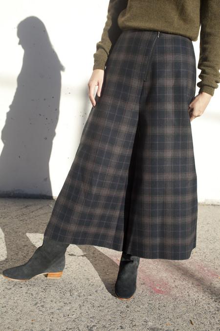 Samuji Fairlei Trousers in Flat Plaid