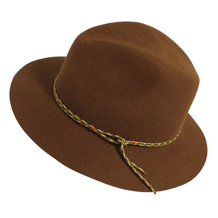 Yestadt Millinery HALF-HITCH BROWN