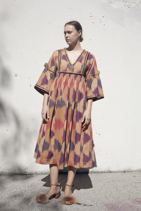Ulla Johnson Sibi Dress in Ikat