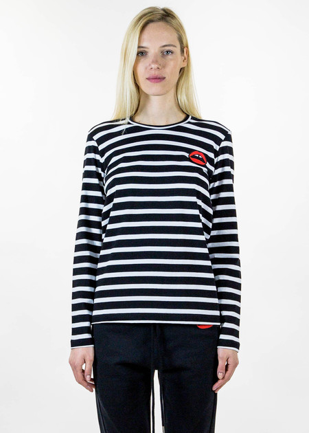 Markus Lupfer Alex Lip Stripe Long Sleeve