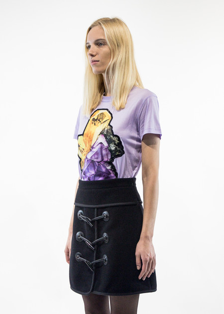 Carven Crystal Patch T-Shirt