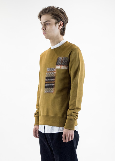 CMMN SWDN Noah Sweatshirt with Felt Detail