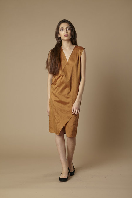 Tantuvi Wrap Angles Dress