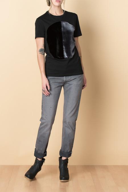 Correll Correll Duo Velvet Shirt In Black