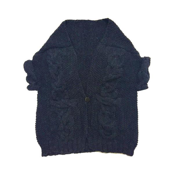 Study NY Hand Knit Vest - Oatmeal Alpaca