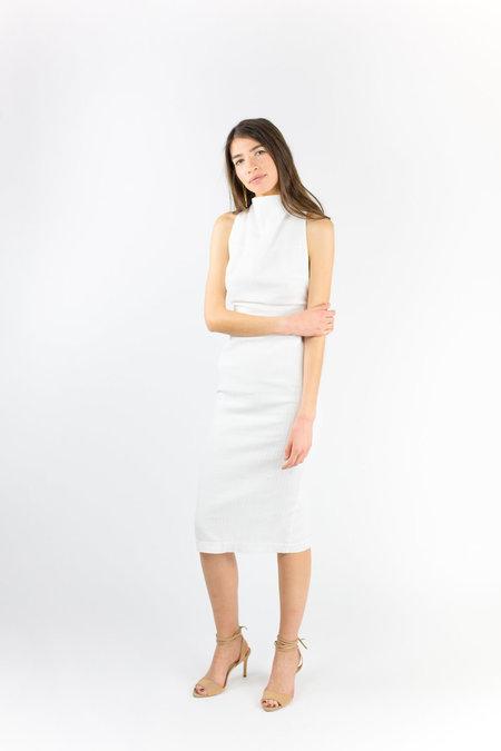 THIRD FORM Maiko Cross Back Dress - White