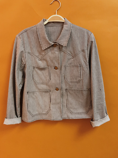 Lykke Wullf Ranch Jacket Railroad Denim