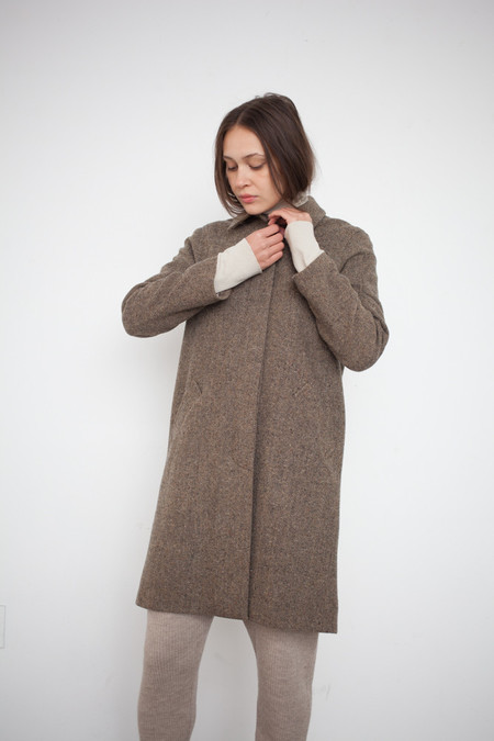 petria lenehan Wicklow Coat in Hay