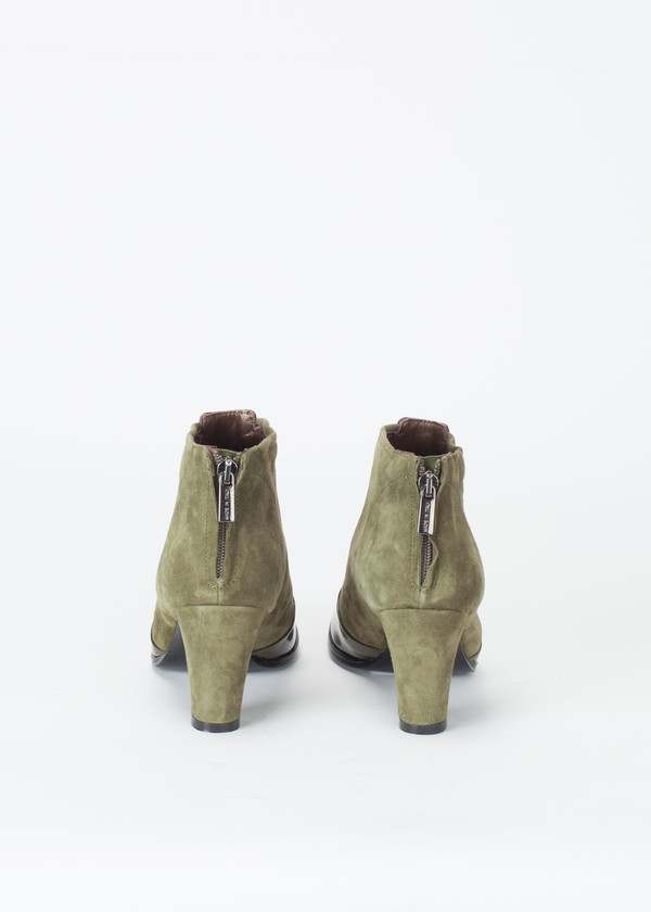 Hache Square Toe Ankle Boot