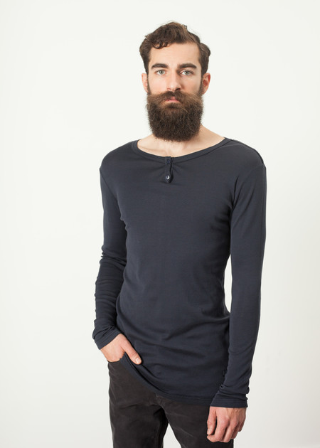 Men's Kristensen du Nord Cotton Henley