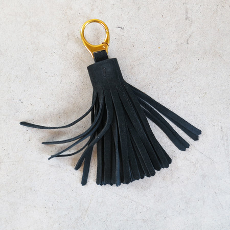 Jerome Dreyfuss Medium Pompom in Black